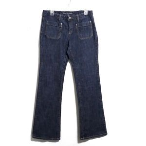 Michael Kors Bootcut Jeans w/Accent Pockets Size8